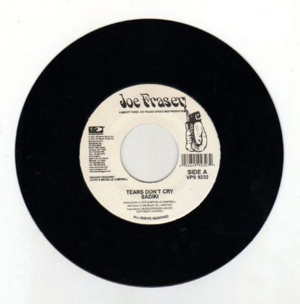 Jah Give Us Life riddim - Sadiki - Tears Don't Cry / Paul Anthony - I Girl (Joe Fraser) JA 7""